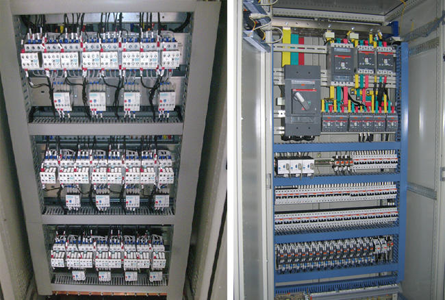 Tủ điều khiển & Tủ động lực 2