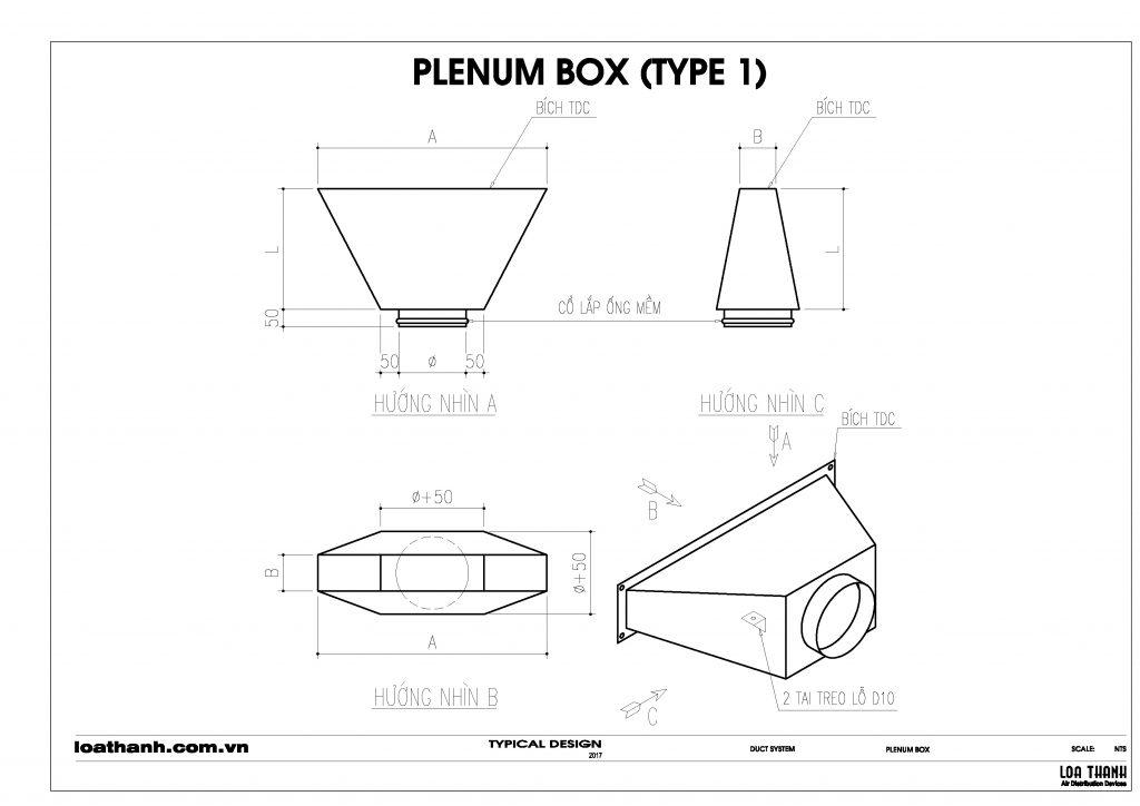 Hộp gió (Plenum box)